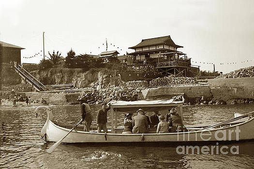 California Views Mr Pat Hathaway Archives - Glass Bottom Boat, Pier and Japanese Tea Garden 1915