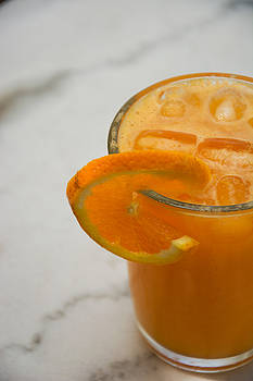 Newnow Photography By Vera Cepic - Glass full of fresh squized orange juice