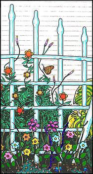 Glass Garden Right by Rich Travis