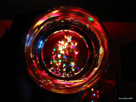 Glass of Christmas Tree by Gerard Yates