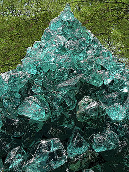 Glass Sculpture 3 by Bruce Iorio