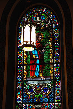 Susanne Van Hulst - Glass Window of Saint Philip in the Basilica in Santa Fe