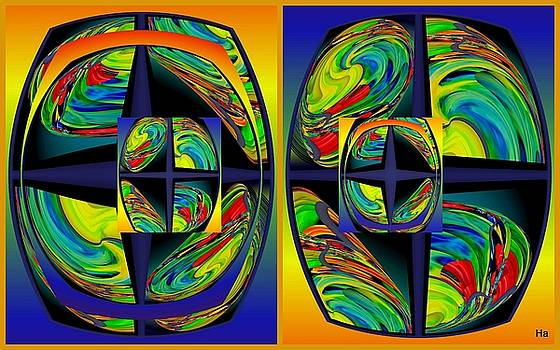Glasses Of The Artist by Halina Nechyporuk