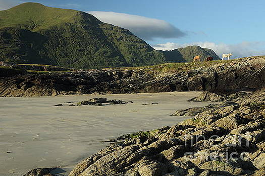 Glassilaun Beach by Peter Skelton