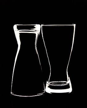 Glassware Negative by Lonnie Paulson