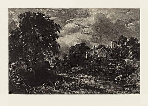 David Lucas after John Constable - Glebe Farm