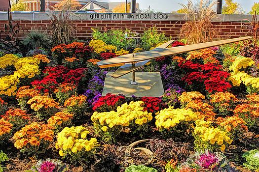 Glen Ellyn Millennium Flower Clock by Christopher Arndt