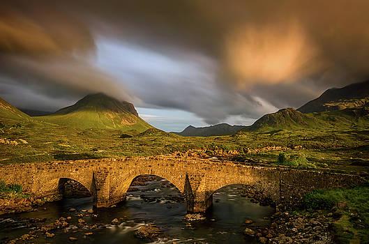 Glen Sligachan Bridge by Swen Stroop
