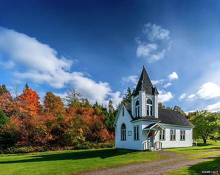 Glen Valley United Church by Ken Morris