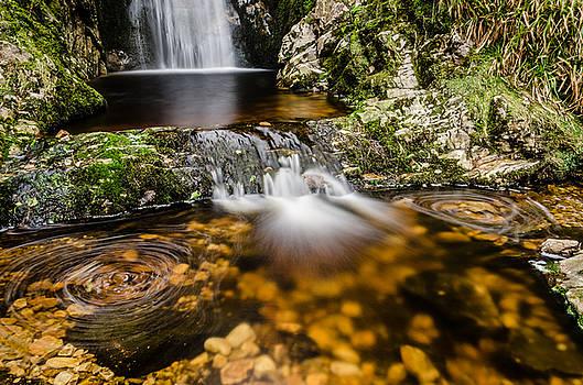 Glenevin waterfall clonmany by Martina Fagan