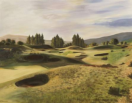 Gleneagles Kings Course by Christina Knapp
