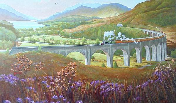 Glenfinnan Viaduct by Mike Jeffries