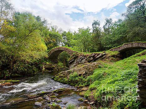 Glenlivet packhorse bridge Cairngorms National Park Scotland by Louise Heusinkveld
