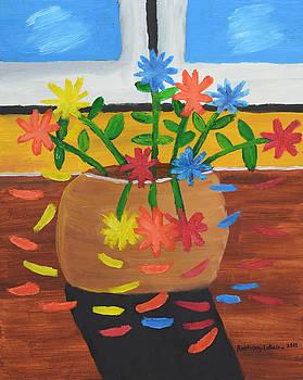 Artists With Autism Inc - Glenns Flower pot