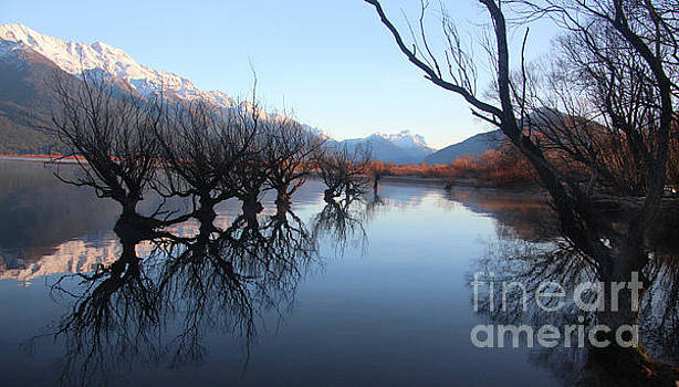 Glenorchy Reflections by Anthony Forster