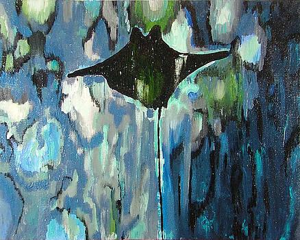 Gliding Stingray by Heather Lennox