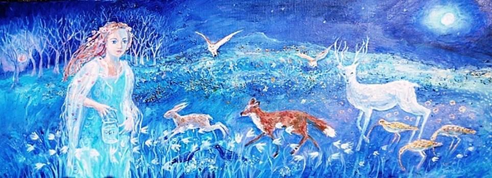 Glimmering Girl by Trudi Doyle