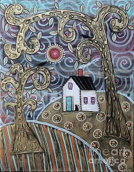 Glistening Landscape by Karla Gerard