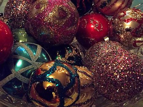 Anne Cameron Cutri - Glitter Christmas Card