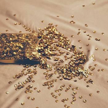 Glitter Square by Cortney Herron