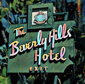 Glitzy Beverly Hills Hotel by Russ Harris