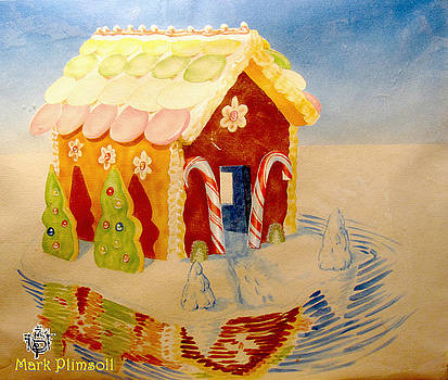 Gloatng Gingerbread House by Mark Plimsoll