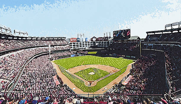 Globe Life Park in Arlington by Kai Saarto