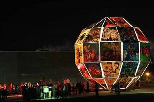 Globe Of Integration by Manfred Kielnhofer
