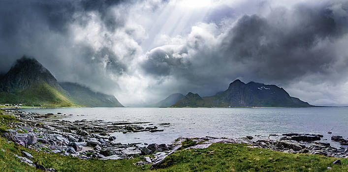 Gloomy day on Lofoten Islands by Dmytro Korol