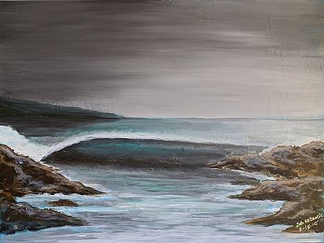 Gloomy Left by Bob Hasbrook