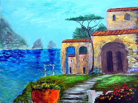 Glorious  Capri by Larry Cirigliano