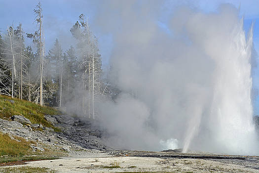 Glorious Grand Geyser by Bruce Gourley