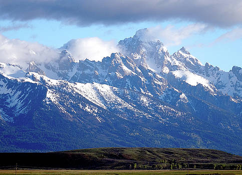 Glorious Grand Tetons by David Frankel