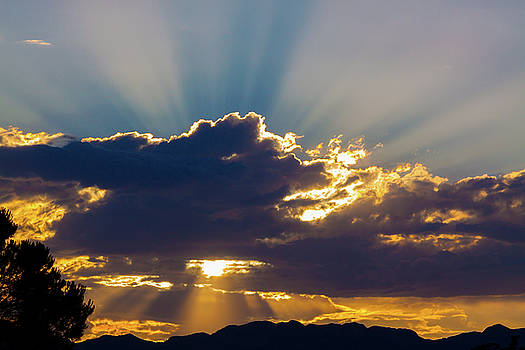 Glorious Sunset by SR Green