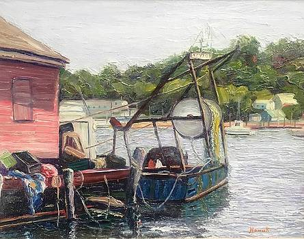 Gloucester Boat At Rest by Richard Nowak