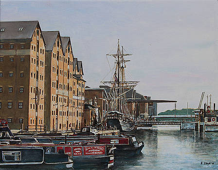 Gloucester Docks at Sunset by Andy Lloyd