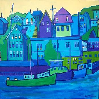Gloucester Harbor by Debra Bretton Robinson
