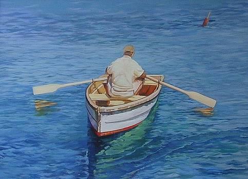 Gloucester Harbor Fisherman by Michael McDougall