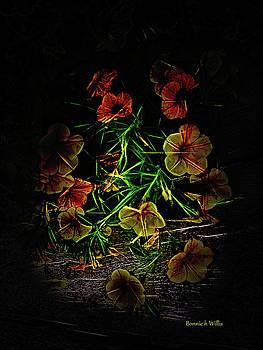 Glow Flowers by Bonnie Willis