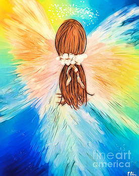Glowing Angel by Tina LeCour