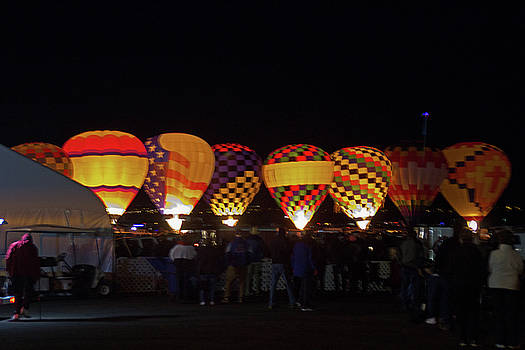 Glowing Balloons by Tom Winfield