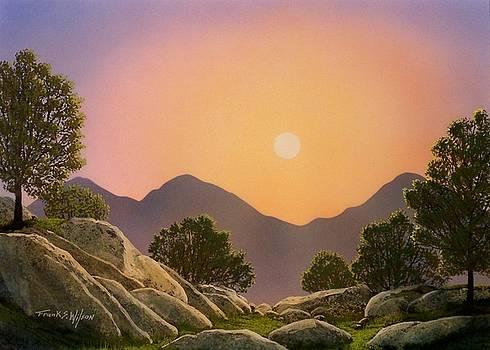 Frank Wilson - Glowing Landscape