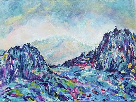 Glyder Fawr by Karin McCombe Jones