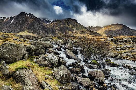 Adrian Evans - Glyderau Mountain Winter