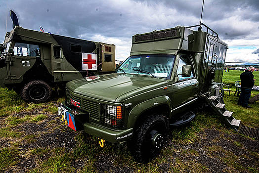 GMC Ambulance by Peter Jenkins