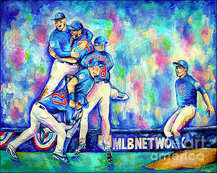 Go Cubs Go by Amy Belonio