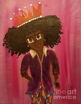 Go Girl  Erriel by Lisa Gilyard