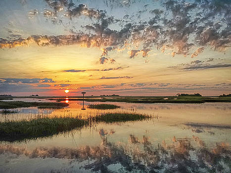 Sunrise Sunset Photo Art - Go In Grace by Jo Ann Tomaselli