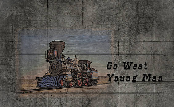 Go West Young Man by Matt Create