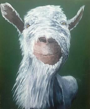 Goaty Mcgoatface by Alan Kennedy